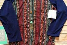 LuLaRoe / These are styles and colors that I like. If it is very fitted, probably I am attracted to the pattern or color and not the tightness, except of course, leggings.