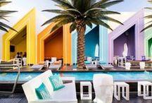 Hotel + Design / My favorite vacation spots.