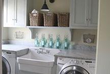 laundry room | linen closet