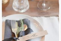 table settings / by Laura Johnson