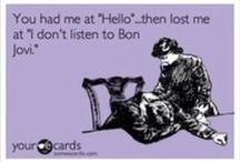 Bon Jovi / My all-time favorite band: BJ - Bon Jovi (the band), JBJ - Jon Bon Jovi, RS - Richie Sambora, TT - Tico Torres, DB - David Bryan.