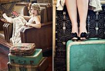 Suitcase LOVE / by Kathy Jones ~ Dust Bunny Trail
