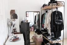 wardrobe / clothing organization / by orange  juice