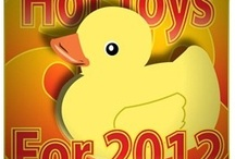 2012 Holiday Gift Guide  / Come check out the MUST have Toys on your 2012 Wish List... we will post the reviews during November and also host Giveaways for most.. you don't want to miss this event...