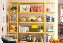 Love it and leave it - Apartment living / Living in an apartment and afraid to commit to painting or putting too many holes in the walls? Here is a compilation ideas that add pops of color, pattern and interest. The trick is to get creative! If you are just starting out in an apartment, most of your stuff is probably thrifted anyway – so have some fun with it!  / by Susan H