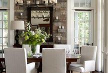 dining room designs / by Skye Olson