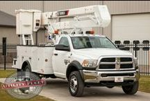 New Bucket Trucks For Sale / New Bucket Trucks for Sale at Utility Fleet Sales. View new bucket truck listings at http://ow.ly/q3Jkw.