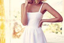 Fashion - Dresses (white)