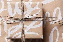 Gift + Wrap / Wrapped with love.