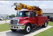 Manager Specials / Get $5,000 CASH BACK, before the end of the month on purchase of bucket truck, pressure digger, digger truck and other utility trucks.