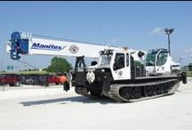 Boom Trucks - Cranes / View all the #BoomTrucks and #Cranes we have in our inventory! Utility Fleet is also an authorized dealer for #Manitex cranes!