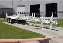 Trailers / Extendable Pole Trailers & Mechanical Gooseneck trailers for sale at Utility Fleet! Call 866-411-5285 or visit www.UtilityFleetSales.com for more info.