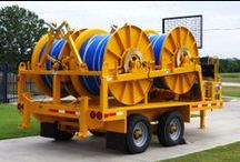 Stringing Equipment / All Stringing Gear/Equipment for sale and rent at Utility Fleet. Call 866-411-5285 or visit www.UtilityFleetSales.com for more details.