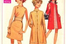 Sewing patterns - 60's