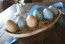 Holiday | He is Risen  / Easter- True meaning of Easter, easter decorations, and DIY.  / by Kali Hale