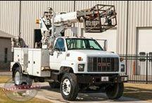 Telecom Bucket Trucks / Non-Insulated Bucket Trucks for the Telecom Industry!