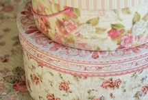 DIY Recycled Boxes ~ Hatboxes / by Kathy Jones ~ Dust Bunny Trail