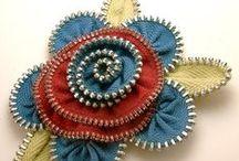 DIY Repurposed Zipper  Crafts / by Kathy Jones ~ Dust Bunny Trail