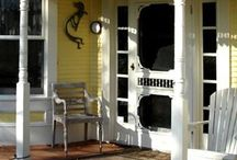 screen doors and porches / by Donna Hyland