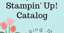 2017-2018 Stampin' Up! Annual Catalog / Stampin' Up! 2017-2018 Annual Catalog ideas by Jackie Bolhuis, Stampin' Up! Demonstrator. Everything is quick & easy--my stamping motto is: Stamping Made Simple
