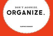 + to organize