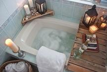 Master bath ideas / by Laura Click