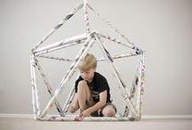 kunstlessen ruimtelijk / by Iris Verbakel