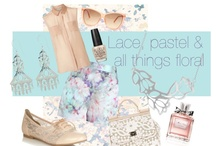 pastels / #pastel #colour #fun #style #retro #beauty #dress #fashion #afternoontea #jewellery #zoemou #zoemoujewellery #gold #silver