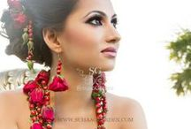 FRESH Floral Jewelry / Exquisitely custom, handcrafted floral jewelery from tAnirika by Suhaag Garden. Earrings, necklaces, bracelets, head pieces. You dream of it, we make it. www.tAnirika.com