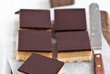 Brownies, Bars and Blondies Inspiration / Recipes to try or healthify