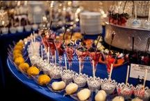Sweet Treats For Your Eyes / Dessert lounges and displays are all the rage for the modern bride. Any chef will attest, it's not just about the taste, it's about the presentation. We couldn't agree more.