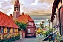 Denmark / Denmark is a truly magical country where quaint timbered houses edge cobbled streets, the tree-lined banks of fjords twist inland and thousands of years of history simply ooze from every corner.