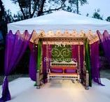 Mehndi & Sangeet Stages / From paisley patterns to Moroccan themes, the sky is (literally) the limit on what Suhaag Garden can design for your Mehndi and Sangeet nights!