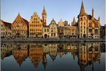 Reflections / Calm waters and tranquil seas reflecting mirror images of our favourite European sights