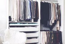 Closet // decor
