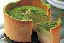 Matcha Tea Delectable Dishes / Recipes that use matcha (green tea) powder as a main ingredient.