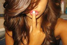 Hair(: / by Trista Holder