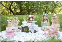 Photography | Tea Party Shoot / Little girls, flower crowns, and tea cups - what could be cuter than that?