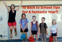 Back to school organization and tips
