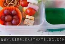 School lunches / As many healthy, portable recipes as I can find. Bonus points if they're make-ahead!