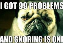 Snore Humor / Snoring is no laughing matter but sometimes… you just have to laugh about it.