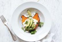 HEALTHY BITES / Salads, fruits & veggies.