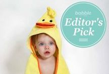 Babble Editor's Picks / The best gifts, baby products, mom swag and everything in between! / by Babble