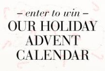 Our Holiday Advent Calendar: BCBG x The Coveteur / Follow our advent calendar all December long & win everything you see. Literally everything. Including a vacation (or staycation!) at Westhouse NYC & starring in your own makeover montage c/o leading mobile beauty provider Glamsquad.  / by The Coveteur