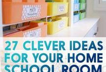 School and Homeschool Room Organization Tips and Ideas / Favorite tips and ideas for keeping you homeschool or classroom organized and in order. Find the best tips and ideas for organizing arts and crafts, books, school work, school supplies, and more.