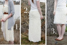 Sewing ideas- skirts