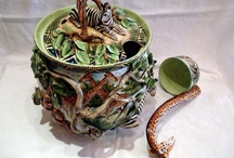 Intu-Art Pottery / Beautiful pottery by Intu-Art from South Africa at GemsofAfricaGallery.com