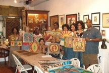 Batik Workshop / Batik Workshop at Gems of Africa Gallery in Atlanta
