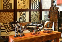 Decorating with African  art