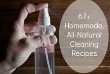 Natural Cleaning Around The House / Find ways to clean anything using all natural products. No cleaners containing harsh chemicals.